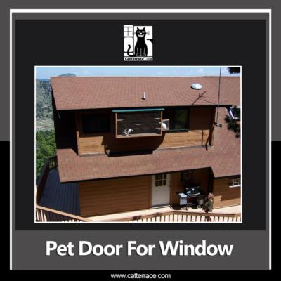 Adjustable Pet Doors for Windows